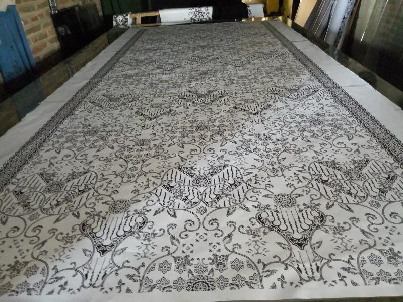 Produksi Kain Batik motif Khas Banyumas