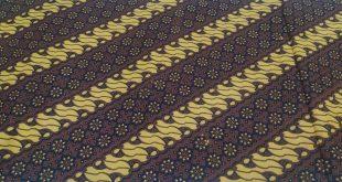 Produksi Kain Batik Sogan